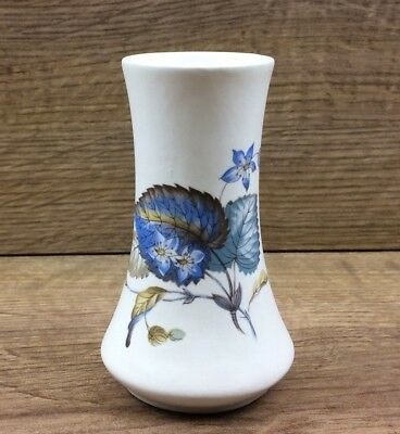 Axe Vale Pottery Devon Small Floral Vase - 110mm Tall • 4.99£