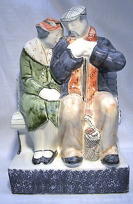 Rye Pottery  Figure Group The Lovers True Love  • 84.99£