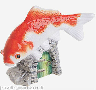 John Beswick Goldfish Orange & White Ornament (JBDP3) RSPCA Collection NEW • 25£