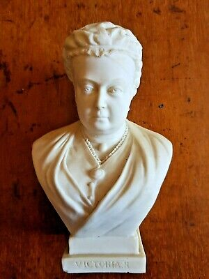 Antique WH Goss Queen Victoria Bust Celebrating 60th Year Of Reign. • 95£