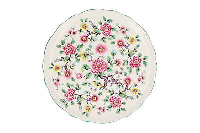 An Old Foley Chinese Rose Serving / Cake Plate • 9.95£