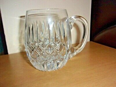Genuine  Tyrone Crystal  Tankard 1 Pint Excellent Condition!!!! • 31.25£