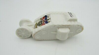 Antique Crested China, W.W.1. Tank Model. Blackpool, Willow Art China. • 42£