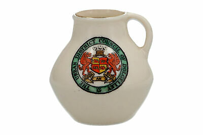 A W.H.Goss Crested China Dolgelley Miniture Jug • 9.95£