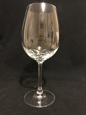 "Dartington Crystal Wine Glass, Signed , 8 1/8"" Tall • 5.95£"
