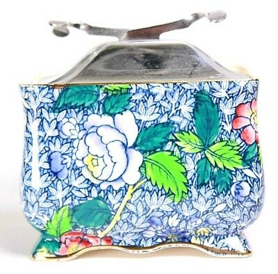 Vintage Royal Winton Chintz Sugar Box Circa 1930  • 85£