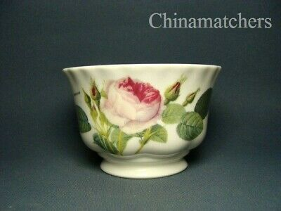 Roy Kirkham ~ Redoute Roses Small Open Sugar Bowl In Excellent Condition • 9.50£