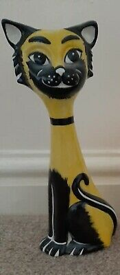 Lorna Bailey Tall Collectable Cat Figurine • 30£