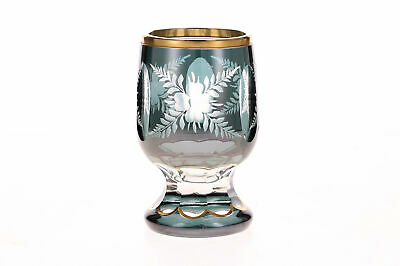 A Victorian Cut Glass Goblet Vase • 29.95£