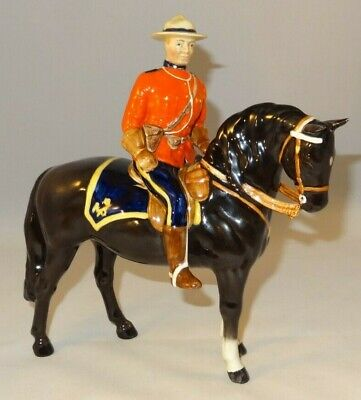 Vintage Beswick Mountie Royal Canadian Mounted Police Excellent  • 329.99£