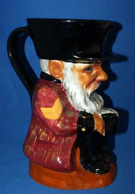 Vintage Shorter And Son Pottery Toby Jug Chelsea Pensioner • 25£