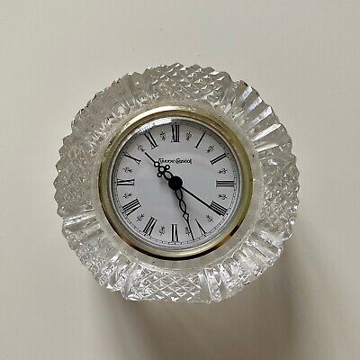 Collectable Rare Antique - Tyrone Crystal Mantle Clock - Excellent Condition • 13.99£