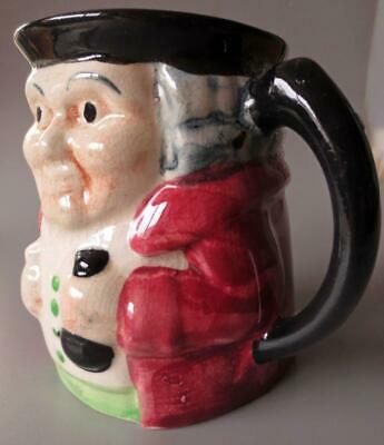 Vintage Pottery Toby Jug Shorter And Son Small • 12.50£