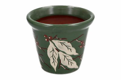 A Vintage C H Brannam Planter Green Leaves And Berries • 24.95£