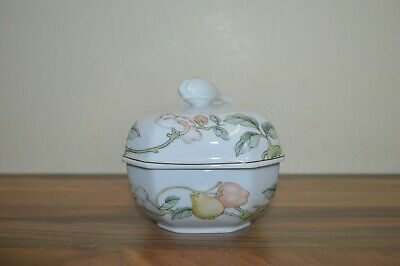 Villeroy & Boch Heinrich Fruit Garden - Square Lidded Sugar Bowl • 15£