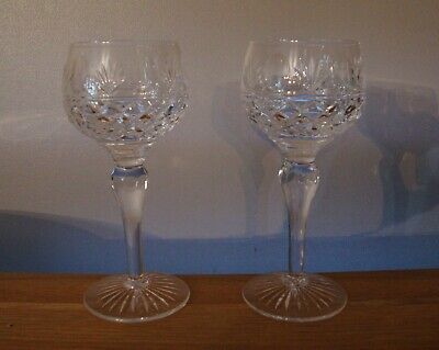 Pair Of Stuart Crystal Montrose Hock Glasses In Excellent Condition • 28.50£