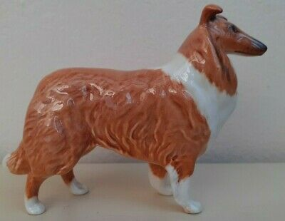 Collectable Vintage Beswick Rough Haired Collie Dog Figurine • 15£