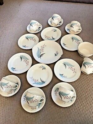 "Vintage BESWICK Part Tea Set X 21 Pieces Cups/Saucers/Plates  ""MARIE""  • 20£"
