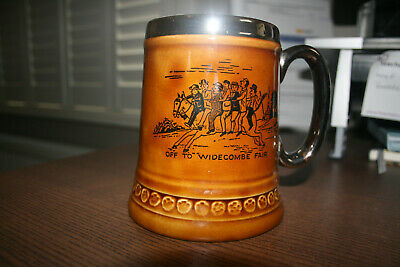 Vintage Lord Nelson Pottery Mug England 2- 76 Off To Windecombe Fair • 15£