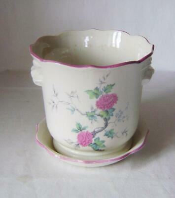 Large Royal Winton Pottery Planter With Flowering Branch Decoration 18 Cm Wide • 16£