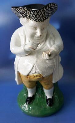Antique Staffordshire  Pottery Victorian Toby Jug A/f • 25£