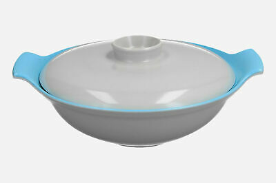 A Poole Pottery Twintone Lidded Serving Dish 26 Cm • 12.95£