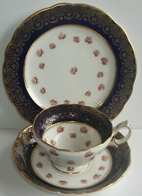 X1 Vintage Hammersley Cabinet Teacup, Saucer And Plate.(trio).early 20th Cent. • 14.99£