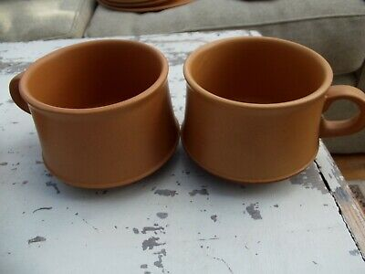 Purbeck Pottery Toast 2 Cups • 6£