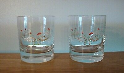 Pair Of Eternal Beau Whisky Tumblers In Excellent Condition • 14.50£