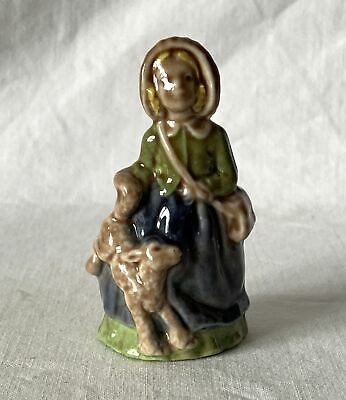 Vintage MARY HAD A LITTLE LAMB Rare Large Wade Nursery Rhyme Favourites Ornament • 12.95£