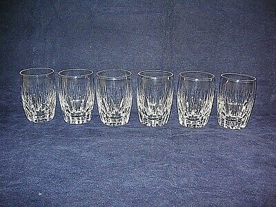 6 X Stuart Crystal  LITCHFIELD  Or  SALISBURY  Barrel Tumblers  • 29.99£