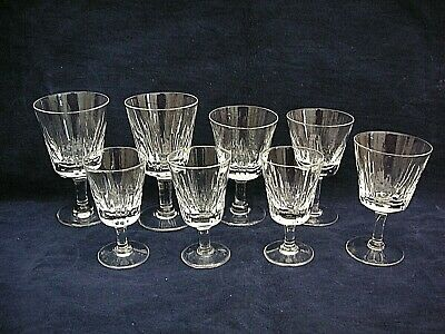 Mixed Lot Of  8 X ROYAL BRIERLEY Crystal Glasses DOMINION Pattern  • 12.99£
