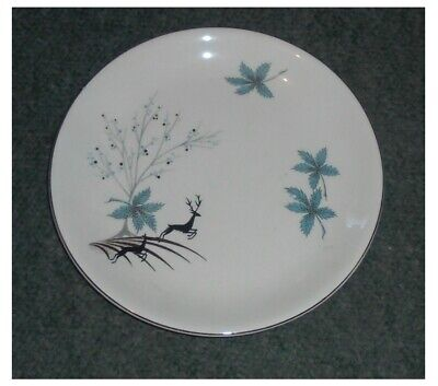 5 X Alfred Meakin ~ Stag Pattern ~ Dinner Plates ~ 25cms Diameter • 25£