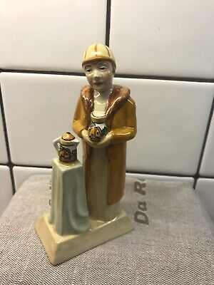 Vintage British Art Pottery Manor Limited Edition Figure Clarice Cliff No. 7 • 18.50£
