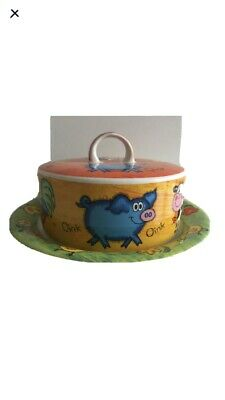 Dunoon Funky Farm A Design By Jane Brookshaw Butter Dish Stoneware  • 8.90£
