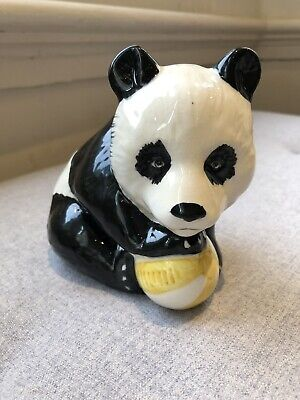 Antique Beswick Panda With Ball 738 Gold Circle Great Condition • 12£