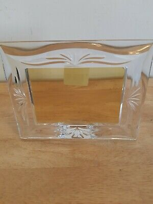 Marquis Waterford Crystal Glass Photoframe Made In Germany Roselle • 12£