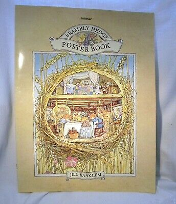 St Michael Brambly Hedge Poster Book • 32.99£