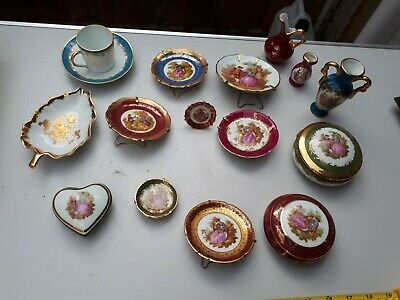 Collection Of Limoges China Pieces X 15 • 10£