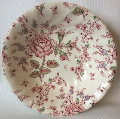 """JOHNSON BROS Rose Chintz Soup Or Cereal Bowl 7.5"""" • 1.99£"""