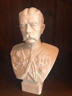 Parian Ware Bust Of Lord Kitchener • 195£
