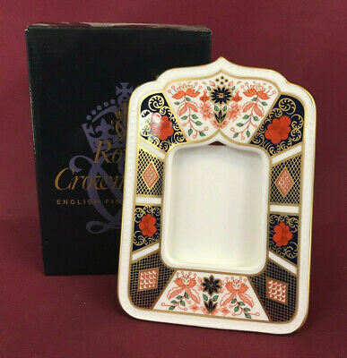 Royal Crown Derby Old Imari Photo Frame - Brand New/boxed • 76.99£