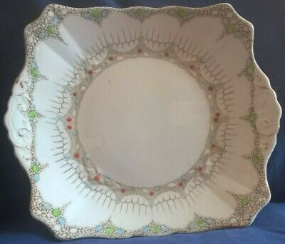 Tuscan China Cake/sandwich Plate In  Plant  Pattern • 5.99£