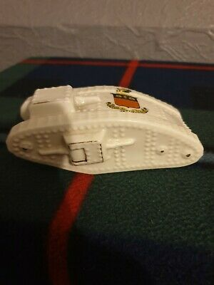 Arcadian Ww1 Tank Crested HAYFIELD Crested China  • 25£