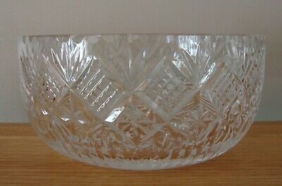 Royal Brierley Crystal ~ Chester 8  Fruit / Salad Bowl In Excellent Condition • 32.50£