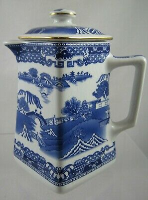 Ringtons Hot Water Jug By Wade Blue And White • 12£