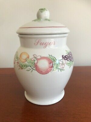 Vintage Boots -  Orchard - Sugar Storage Jar With Lid • 7.50£