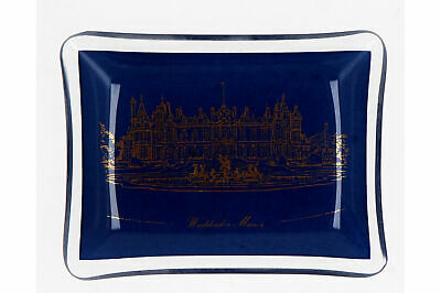 A Vintage Waddesdon Manor Glass Dish • 14.95£