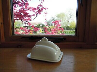 Paramount Pottery Ltd ~ Art Deco ~ Cheese/Butter Dish ~ Stafford England • 11.99£