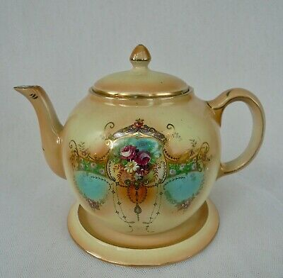 Antique  Globe No.1  Teapot With Stand  • 26£